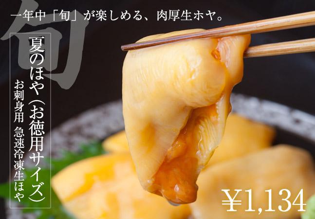 夏のほや(400g入)【お刺身用 急速冷凍 生むきほや】お徳用